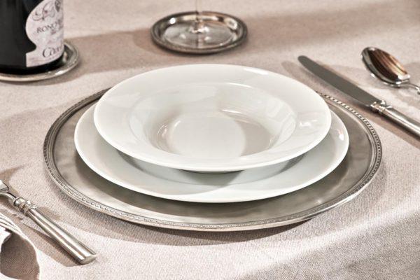 Platzteller aus Zinn - Artikel rund um den Tisch aus Zinn - Zinn 95% (423)