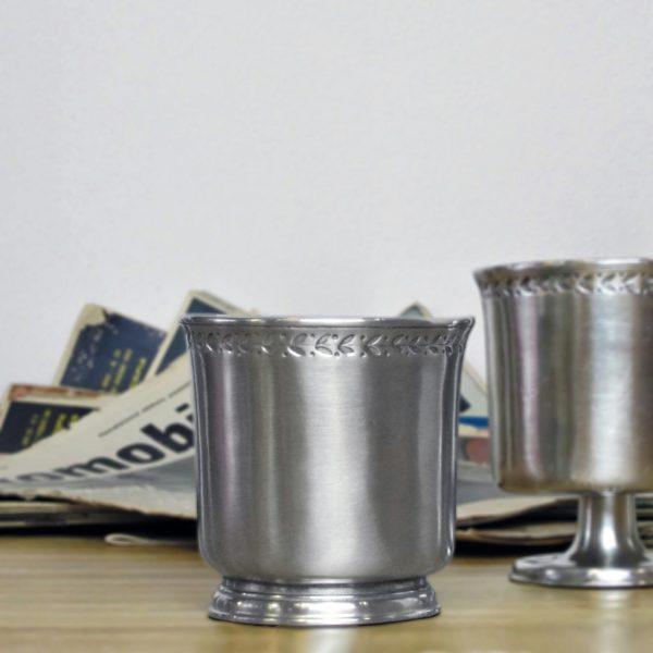 Becher aus Zinn - Zinnbecher - Zinn 95% (675)