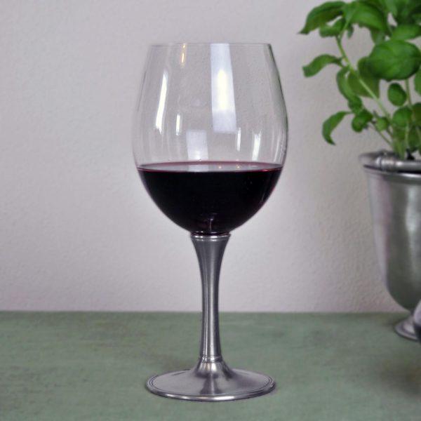 Degustationsglas für Wein aus Zinn und Kristall (730)