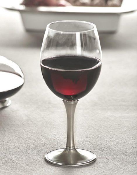 Degustation Kelch Wein Kristall Zinn 95% (730)