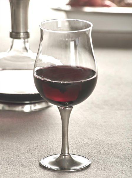 Degustation Kelch Wein Kristall Zinn 95% (731)