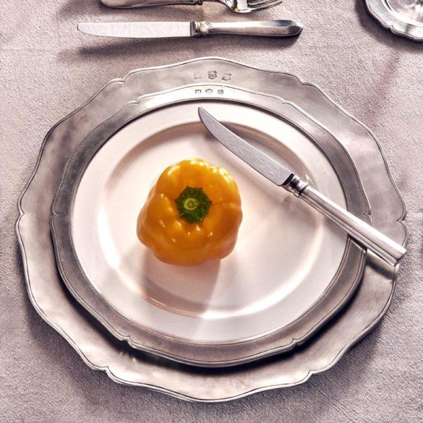 Platzteller aus Zinn - Artikel rund um den Tisch aus Zinn - Zinn 95% (739)
