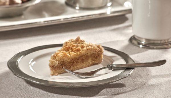 Dessertteller aus Zinn und Keramik (792)