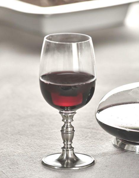 Glas Wein Zinn Kristall - Kelch Wein Zinn Kristall (812)