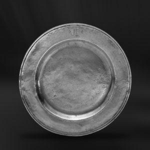 Zinnteller - Antik Teller aus Zinn (Art.118)