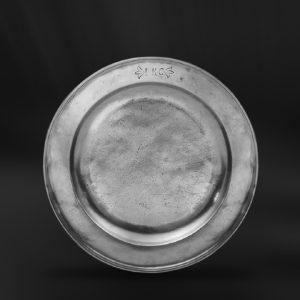 Zinnteller - Antik Teller aus Zinn (Art.133)