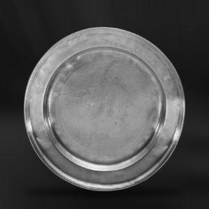 Zinnteller - Antik Teller aus Zinn (Art.137)
