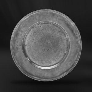 Zinnteller - Antik Teller aus Zinn (Art.152)