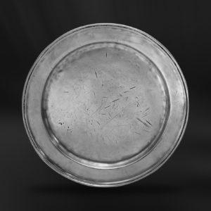 Zinnteller - Antik Teller aus Zinn (Art.157)