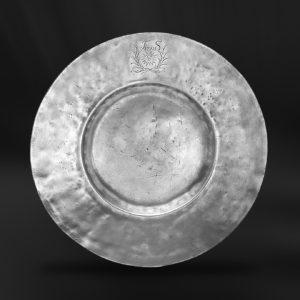 Zinnteller - Antik Teller aus Zinn (Art.224)