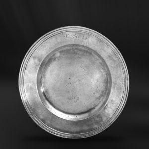 Zinnteller - Antik Teller aus Zinn (Art.229)