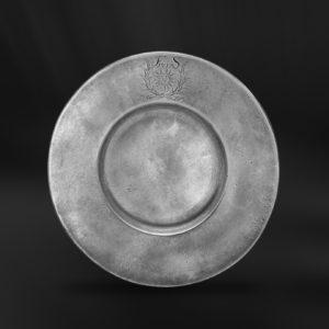 Zinnteller - Antik Teller aus Zinn (Art.231)