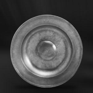 Zinnteller - Antik Teller aus Zinn (Art.238)