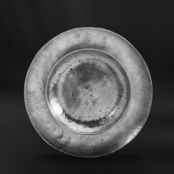 Zinnteller - Antik Teller aus Zinn (Art.256)