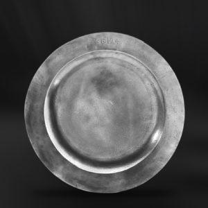 Zinnteller - Antik Teller aus Zinn (Art.258)