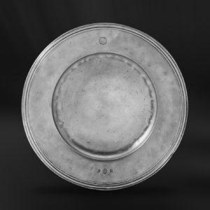 Zinnteller - Antik Teller aus Zinn (Art.456)