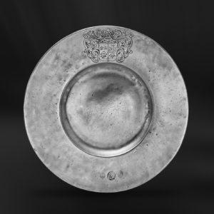 Zinnteller - Antik Teller aus Zinn (Art.369)