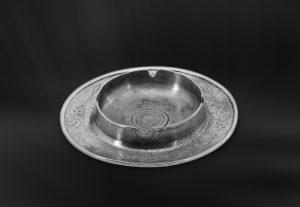 Aschenbecher aus Zinn (Art.376)