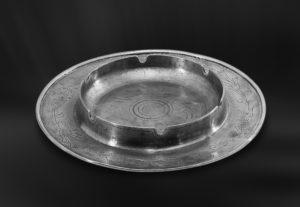 Aschenbecher aus Zinn (Art.377)
