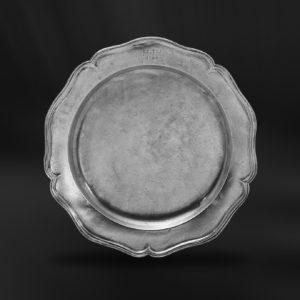 Barockteller aus Zinn - Barockstil Zinnteller (Art.102)