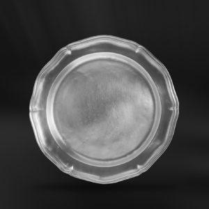 Barockteller aus Zinn - Barockstil Zinnteller (Art.106)