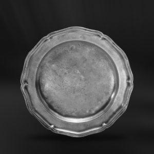 Barockteller aus Zinn - Barockstil Zinnteller (Art.141)