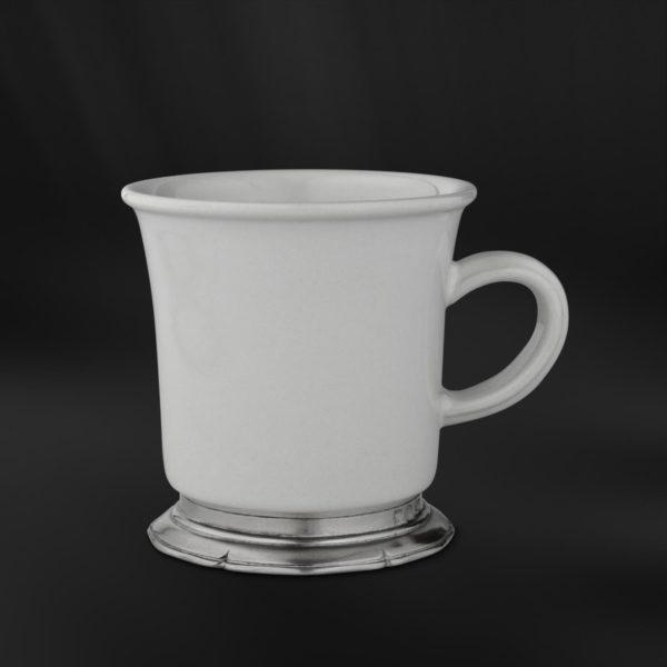 Becher aus Keramik und Zinn - Tasse Keramik und Zinn (Art.872)