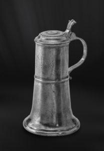 Bier Karaffe aus Zinn - Zinnkaraffe (Art.264)