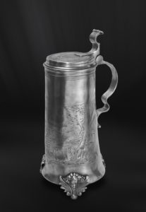 Bier Karaffe aus Zinn - Zinnkaraffe (Art.302)