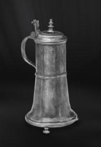 Bier Karaffe aus Zinn - Zinnkaraffe (Art.322)