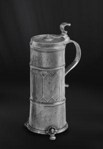 Bier Karaffe aus Zinn - Zinnkaraffe (Art.355)