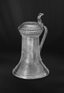Bier Karaffe aus Zinn - Zinnkaraffe (Art.422)