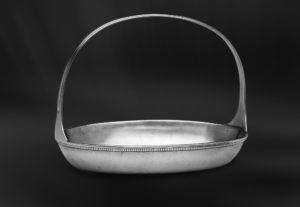 Brotkörbchen aus Zinn - Zinnkörbchen (Art.531)