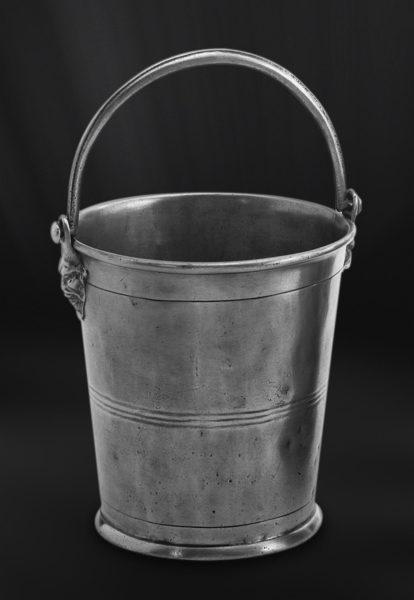 Champagnerkübel aus Zinn - Zinnkübel - Kübel aus Zinn (Art.288)