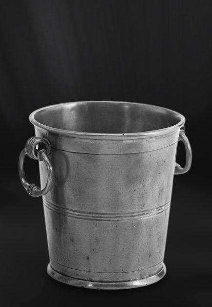 Champagnerkübel aus Zinn - Zinnkübel - Kübel aus Zinn (Art.289)