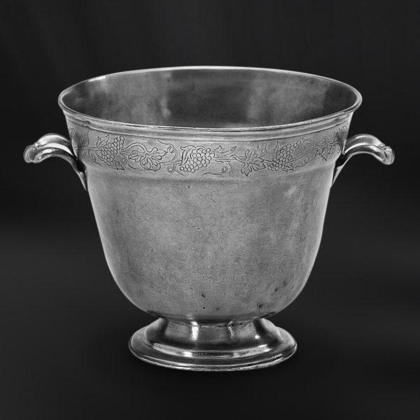 Champagnerkübel aus Zinn - Zinnkübel - Kübel aus Zinn (Art.419)