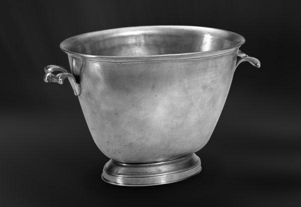 Champagnerkübel aus Zinn - Zinnkübel - Kübel aus Zinn (Art.470)