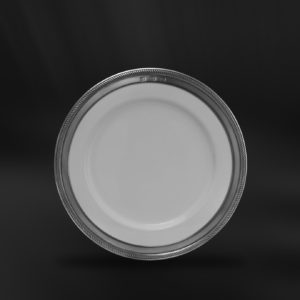 Dessertteller aus Keramik und Zinn (Art.852)