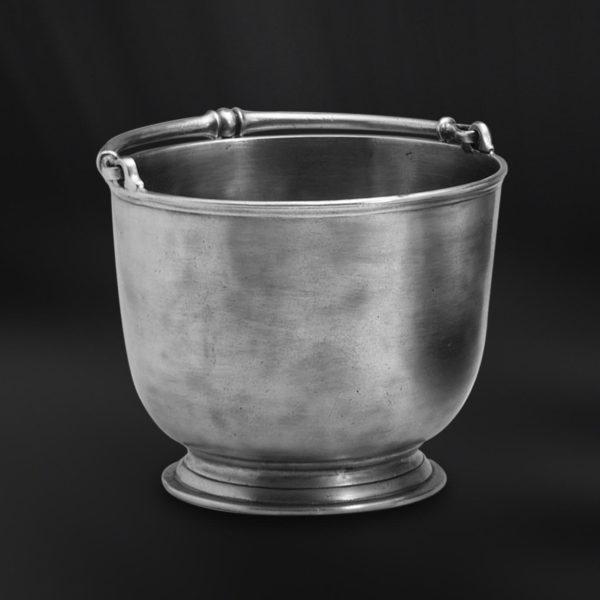 Eiskübel aus Zinn - Zinnkübel für Eis - Kübel aus Zinn (Art.510)