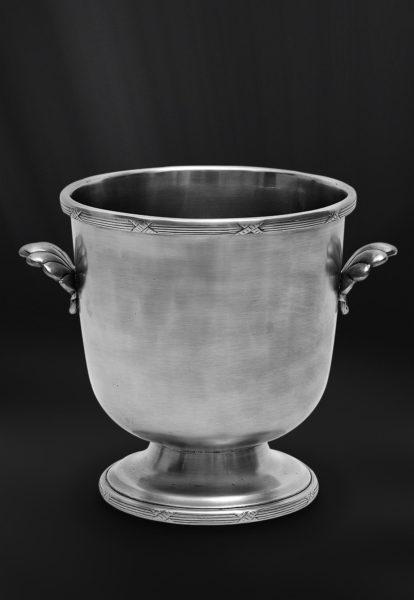 Eiskübel aus Zinn - Zinnkübel für Eis - Kübel aus Zinn (Art.788)