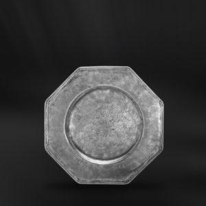 Glasuntersetzer aus zinn - Untersetzer aus Zinn (Art.218)