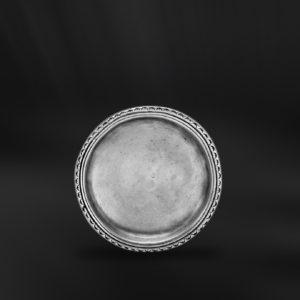 Glasuntersetzer aus zinn - Untersetzer aus Zinn (Art.425)