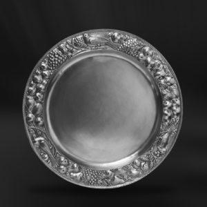 Großer Zinnteller - Großer Teller aus Zinn (Art.266)