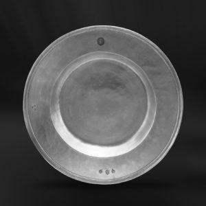 Großer Zinnteller - Großer Teller aus Zinn (Art.690)