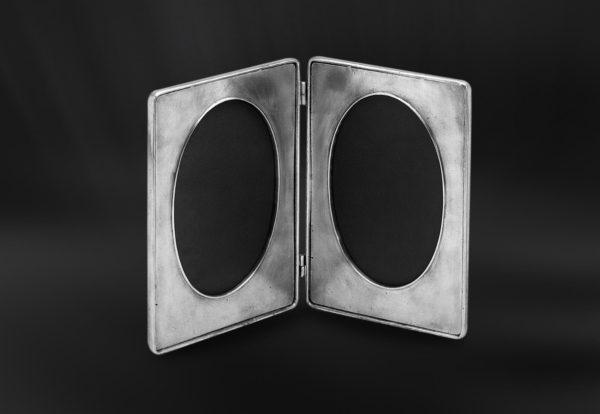 Klappbilderrahmen aus Zinn (Art.488)