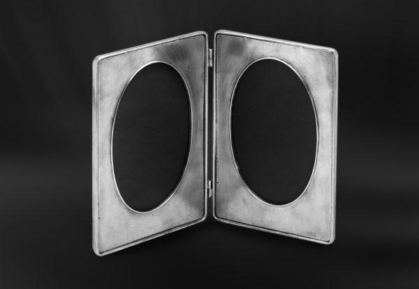 Klappbilderrahmen aus Zinn (Art.489)