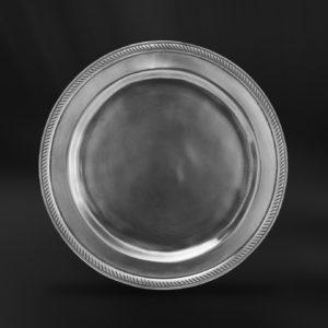 Brotteller aus Zinn (Art.854)