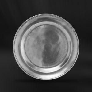 Kleine Zinnteller - Dessertteller aus Zinn (Art.178)