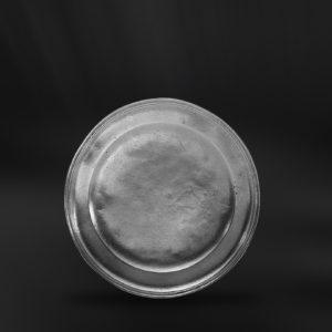 Kleine Zinnteller - Dessertteller aus Zinn (Art.135)