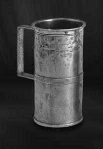 Messbecher aus Zinn mit Henkel (Art.170)